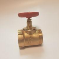 Клапан запорный 15Б3р DN 50 муфта - цапка
